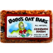 Bobos Cinnamon Raisin Oat Bar, 3 Ounce -- 12 per case.
