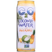 C2O Coconut Water with Pineapple Juice and Coconut Pulp, 17.5 Fluid Ounce -- 12 per case.