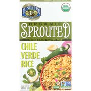 Lundberg Organic Sprouted Chile Verde Rice, 6 Ounce -- 6 per case.