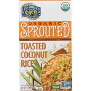 Lundberg Organic Sprouted Toasted Coconut Rice, 6 Ounce -- 6 per case.