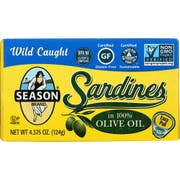Seas Sard Club In Oil - 4.37 ounce each -- 12 per case.