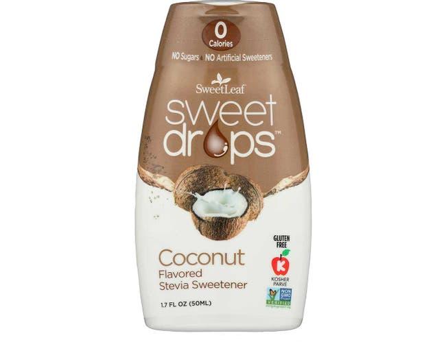 Sweet Leaf Coconut Sweet Drops, 1.7 Ounce -- 1 each.