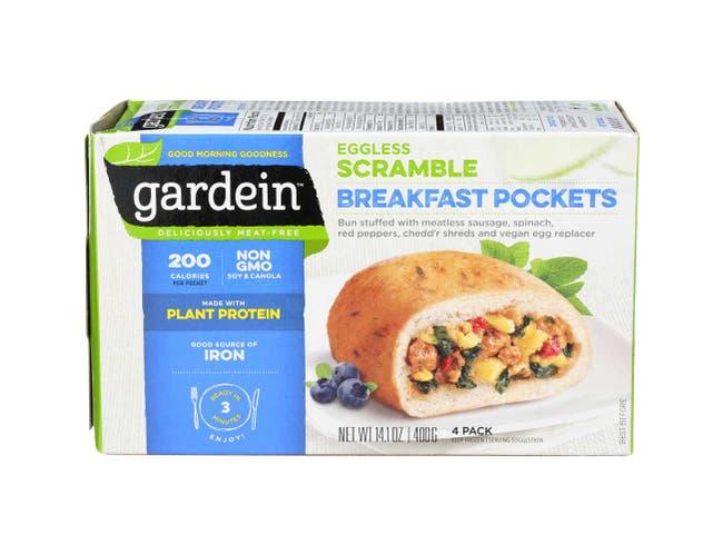 Gardein Eggless Scramble Breakfast Pocket, 14.1 Ounce -- 6 per case.