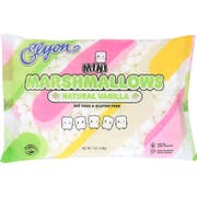 Elyon Natural Mini Marshmallow, 7 Ounce -- 12 per case.