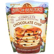 Birch Benders Chocolate Chip Pancake and Waffle Mix, 24 Ounce -- 6 per case.