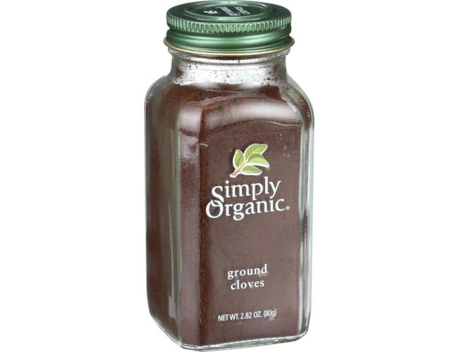 Simply Organic Ground Cloves, 2.82 Ounce -- 6 per case