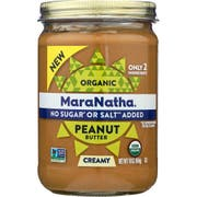 Maranatha Organic Creamy No Stir Peanut Butter, 16 Ounce -- 6 per case.