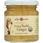 Ginger People Natural Pickled Sushi Ginger, 6.7 Ounce -- 12 per case.
