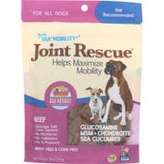 Ark Naturals Sea Mobility Joint Rescue Beef Jerky for Dog, 9 Ounce -- 3 per case.
