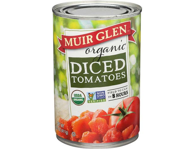 Muir Glen Organic Diced Tomato, 14.5 Ounce -- 12 per case.