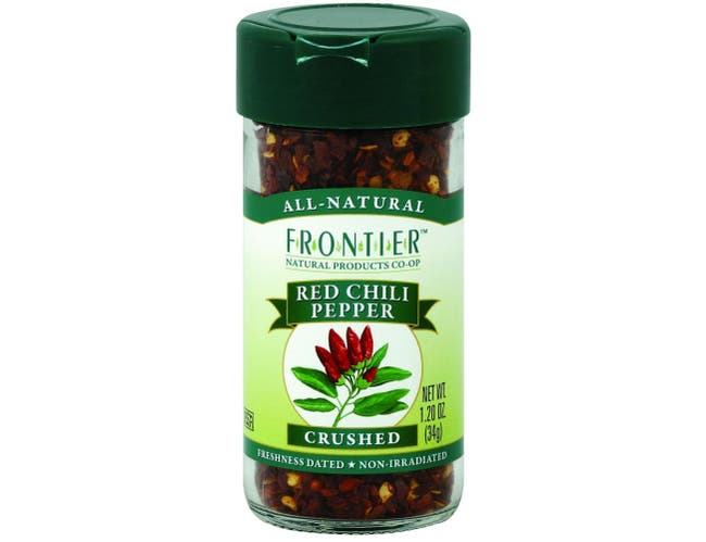Frontier Herb Crushed Red Chili Pepper, 1.2 Ounce -- 6 per case