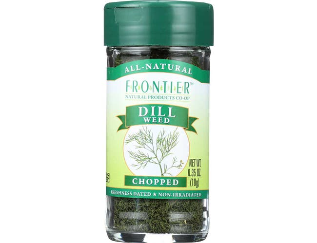 Frontier Herb Cut and Sifted Dill Weed, 0.56 Ounce -- 6 per case