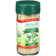 Frontier Herb Organic Hulled Whole Sesame Seed, 2.32 Ounce -- 6 per case