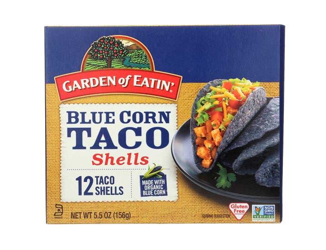 Garden Of Eatin Organic Blue Corn Taco Shells, 5.5 Ounce -- 12 per case.