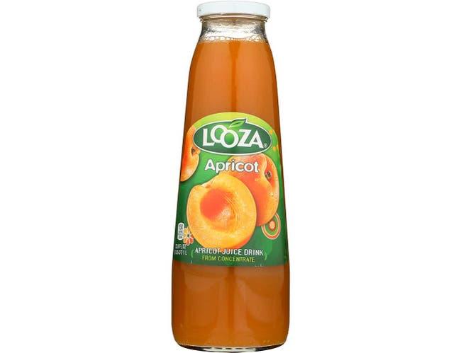 Looza Apricot Juice - 33.8 Oz Pack -- 6 Case