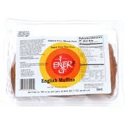 Ener-G Foods English Muffin, 14.8 Ounce -- 6 per case.