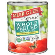 Muir Glen Organic Whole Peeled Plum Tomato, 28 Ounce -- 12 per case.