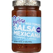 Frontera Foods Medium Chunky Tomato Dipping Salsa, 16 Ounce -- 6 per case.