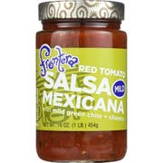 Frontera Foods Mild Cunky Tomato Dipping Salsa, 16 Ounce -- 6 per case.
