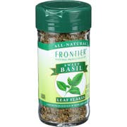 Frontier Herb Sweet Basil Leaf, 0.48 Ounce -- 6 per case