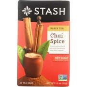 Stash Chai Spice Black Tea - 20 bags per pack -- 6 packs per case.