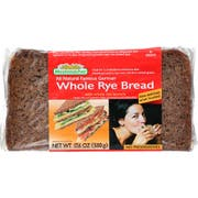 Mestemacher Whole Rye Brd - 17.6 ounce each -- 12 per case.