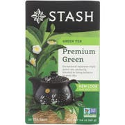 Stash Premium Green Tea - 20 bags per pack -- 6 packs per case.
