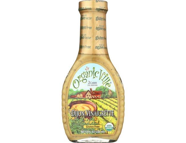 OrganicVille Organic Tarragon Dijon Vinaigrette, 8 Ounce -- 6 per case.