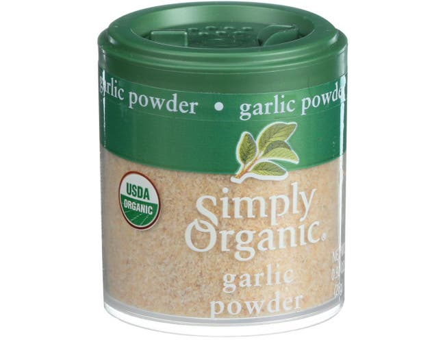 Simply Organic Garlic Powder, 0.92 Ounce -- 6 per case.