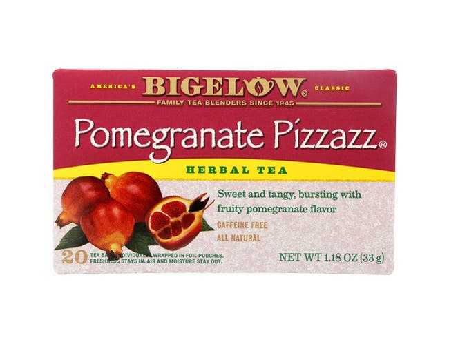 Pomegranate Pizzaz Juice Tea, 20 Ct -- 6 Per Case.