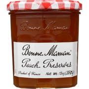 Bonne Maman Peach Preserves, 13 ounce -- 6 Per Case.