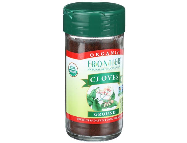 Frontier Herb Organic Ground Clove, 1.90 Ounce -- 6 per case