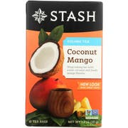 Stash Coconut Mango Wuyi Oolong Tea - 18 per pack -- 6 packs per case.