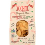 Xochitl Picositos Con Lemon Corn Chips, 12 Ounce -- 10 per case.