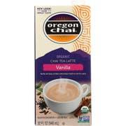 Oregon Chai Organic Vanilla Chai Tea Lattte Concentrate, 32 Ounce -- 6 per case.