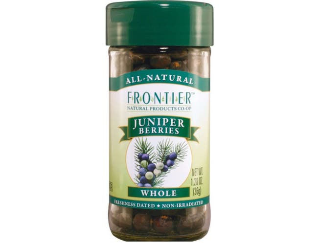 Frontier Herb Select Whole Juniper Berries, 1.28 Ounce -- 1 each.