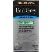 Bigelow Earl Grey Decaffeinated Tea -- 6 per case.