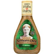 Newmans Own Caesar Salad Dressing, 16 Ounce -- 6 per case.
