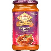 Pataks Dopiaza Cooking Sauce, 15 Ounce -- 6 per case.