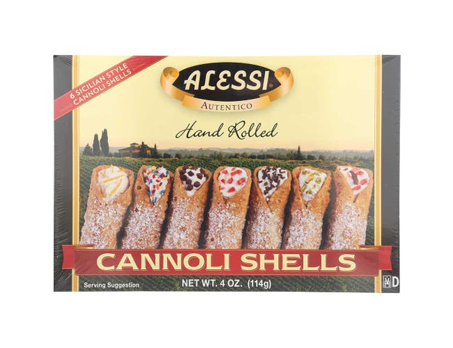 Large Cannoli Shell, 3Z -- 12 Per Case.