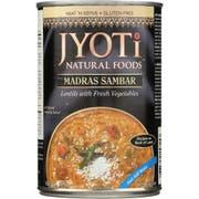 Sambar,Lentil/Vegetable Entree - 15 ounce  -- 12 per case.