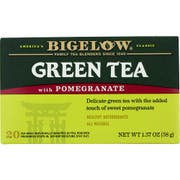 Bigelow Green Tea with Pomegranate -- 6 per case.