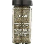 Morton And Bassett Thyme Seasoning, 0.8 Ounce -- 3 per case.