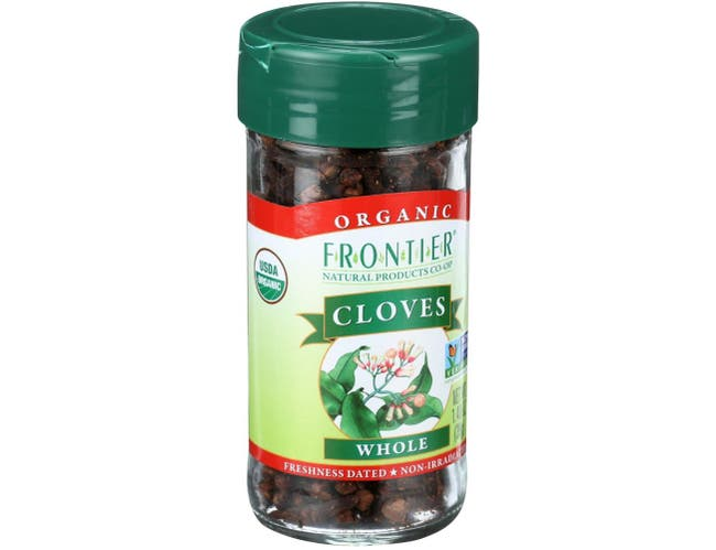 Frontier Herb Organic Whole Clove, 1.40 Ounce -- 6 per case
