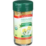 Frontier Herb Organic Yellow Ground Mustard Seed, 1.80 Ounce -- 6 per case