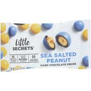 Little Secrets Sea Salted Peanut Dark Chocolate Pieces, 1.5 ounce -- 12 per case