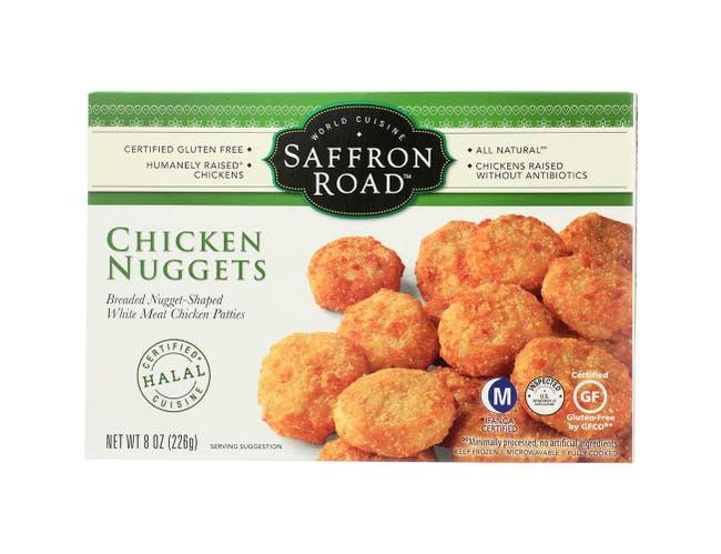 Saffron Road Chicken Nuggets, 8 Ounce -- 8 per case.