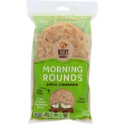 Ozery Bakery Morning Rounds Apple Cinnamon Pita Bread, 12.7 Ounce - 6 per pack -- 6 packs per case.