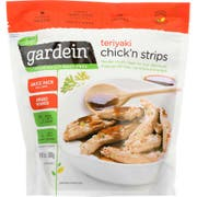 Gardein Teriyaki Chicken Strips, 10.5 Ounce -- 8 per case.