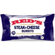 Reds All Natural Steak and Cheese Burrito, 5 Ounce -- 12 per case
